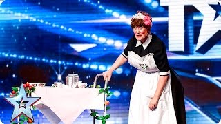 Bridie isn't the Judges cup of tea | Week 2 Auditions | Britain's Got Talent 2016