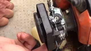 cambiar el carburador en la desbrozadora ( changing the carburetor in the shredder )
