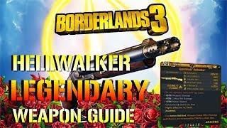 Borderlands 3: Hellwalker | Legendary Shotgun Guide (The DOOM Shotgun!)
