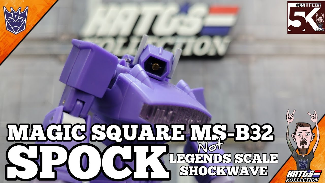 Magic Square MS-B32 Spock (legends scale Shockwave) Review by Kato's Kollection