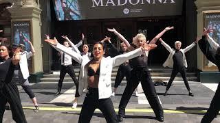 Madonna Flashmob for Madame X - London Palladium