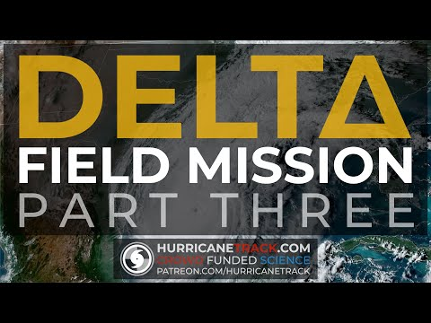 Hurricane Delta (2020) Part 3 - Storm Field Work - Vehicle Cam