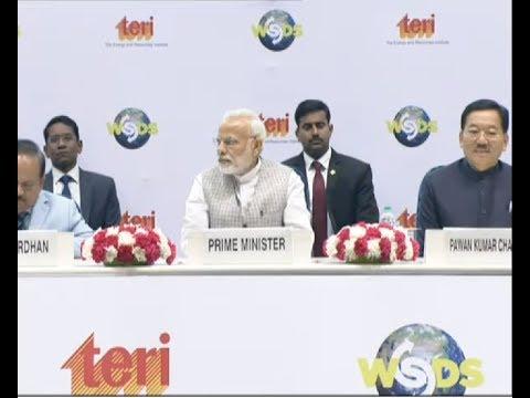 PM Modi Inaugurates the World Sustainable Development Summit in New Delhi