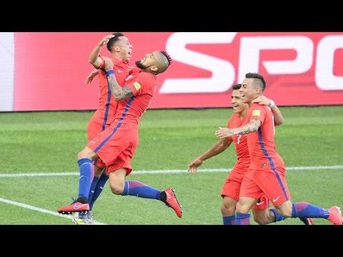Chile y Alemania avanzan a semifinales de la Confederaciones
