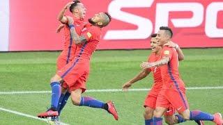 Chile y Alemania avanzan a semifinales de la Confederaciones thumbnail