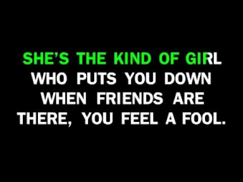 Beatles - Girl Karaoke  with melody and words