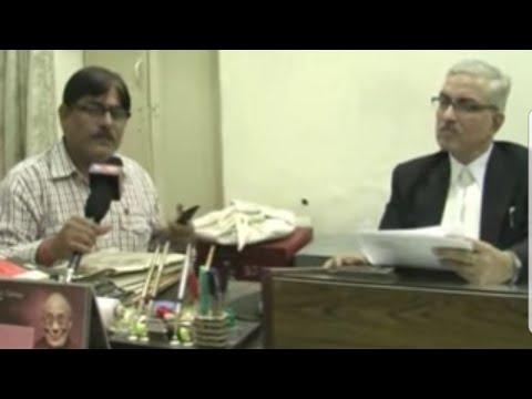 District Judge Mathura Dinesh Kumar Singh's Exclusive Talk by Senior Journalist Yogesh Khatri