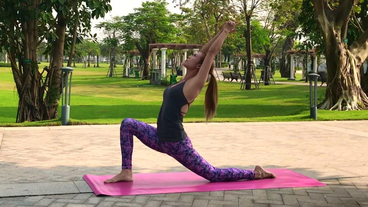 Yoga 10 phút GIÃN CƠ | YogaBySophie.com