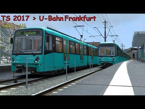 Train Simulator 2018►#33►U-Bahn Frankfurt►U1