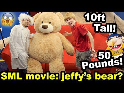 WORLD'S BIGGEST TEDDY BEAR!! (SML idea???)