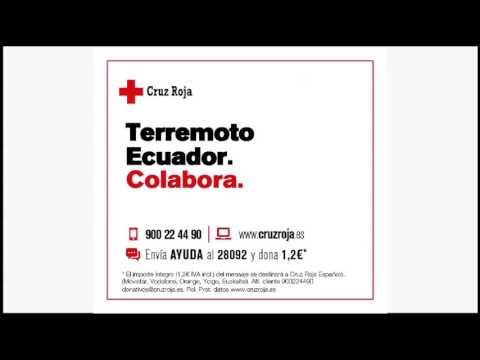 Terremoto Ecuador - Colabora