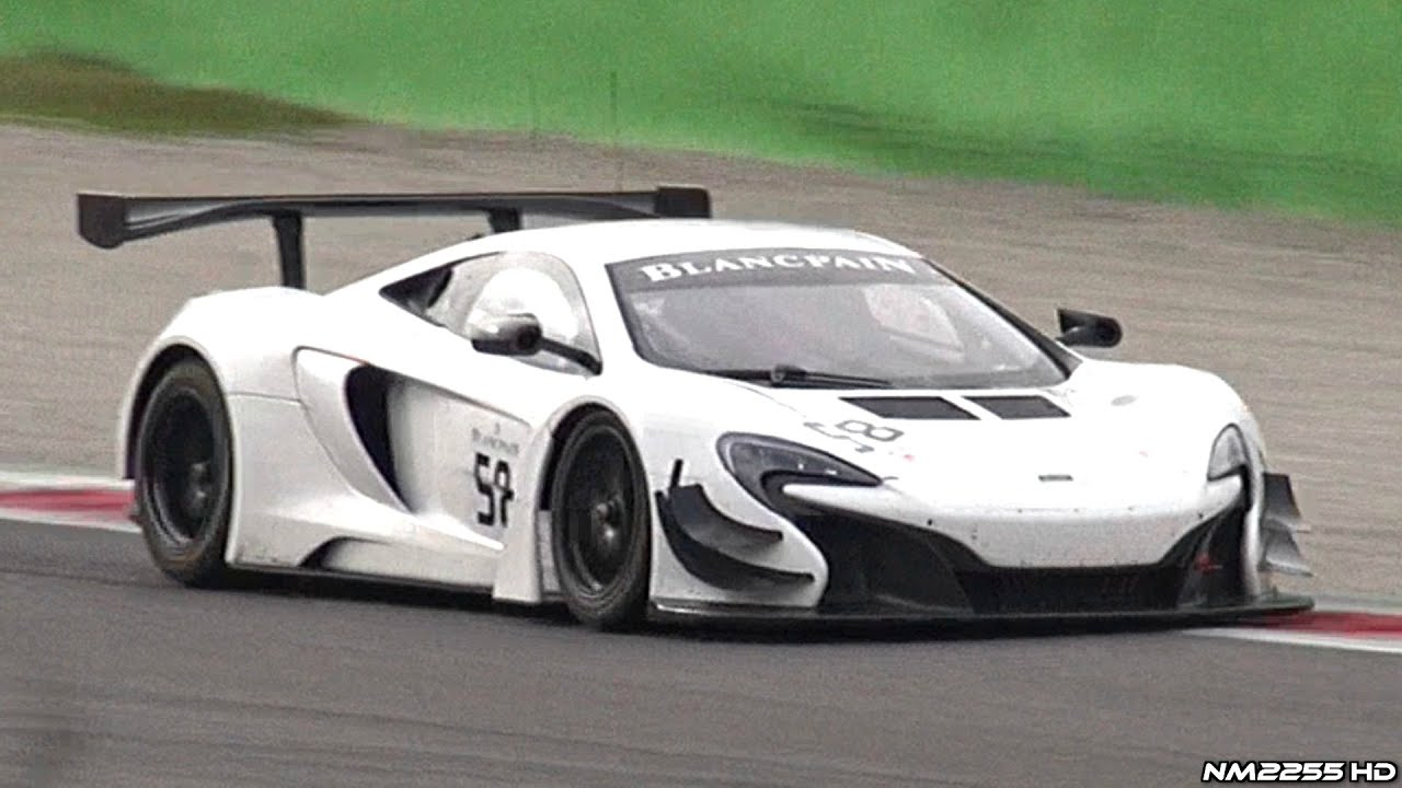 mclaren 650s gt3 in action on track pure twin turbo v8. Black Bedroom Furniture Sets. Home Design Ideas