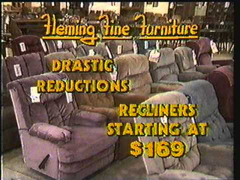 Fleming Fine Furniture Commercial, Memphis (1986)