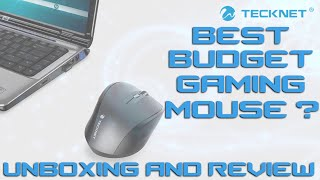 Tecknet Wireless Mouse Unboxing and Review Best budget gaming mouse?