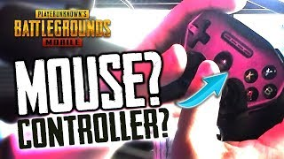 MOUSE & KEYBOARD or CONTROLLER for PUBG Mobile?