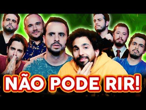 NÃO PODE RIR! com Murilo Couto, Victor Camejo, Rominho Braga e Osmar Campbell