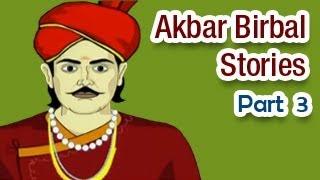 Akbar Birbal Hindi Animated Story - Part 3/6