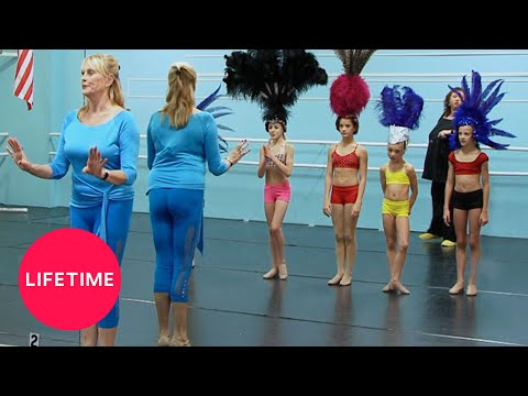 Dance Moms: The Girls Meet a Vegas Showgirl (Season 1 Flashback) | Lifetime thumbnail