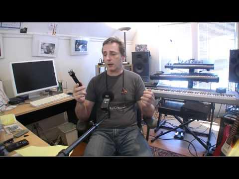 Zoom h1 digital recorder Demo, Portland Music Company
