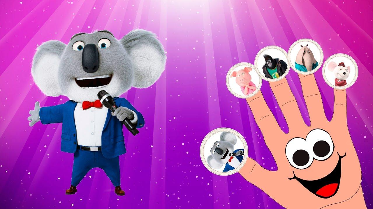 Sing Movie Finger Family Song Children Nursery Rhyme