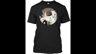 5 Astronaut cat Amazing Shirt 2019