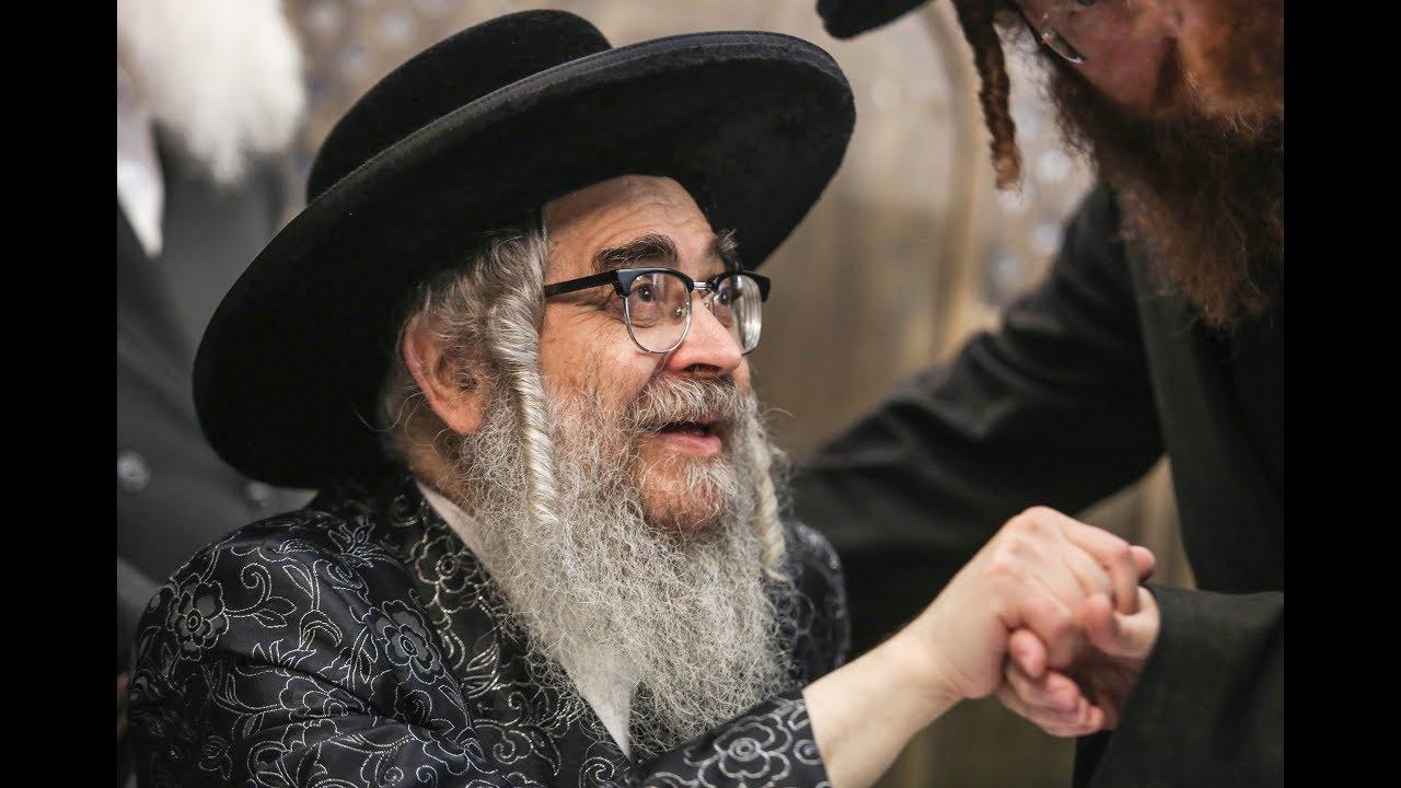 האדמו''ר מסאטמר מדליק את מירון! | Satmar Rebbe In Meron