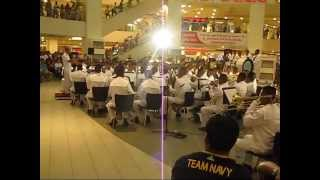 Philippine Navy Band Plays ABBA at Trinoma Concert