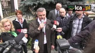 Załoga MOPS pod urzędem żądała 300 zł podwyżki
