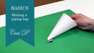 Basics #7 | Making a piping bag