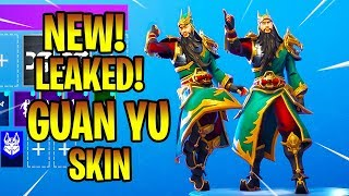 *NEW* LEAKED GUAN YU SKIN! SHOWCASE Fortnite Battle Royale