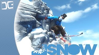 SNOW The Game - A Beautiful Open World Skiing Simulation Experience - Early Access Alpha Gameplay