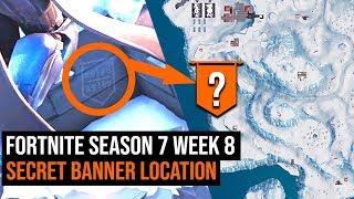 Fortnite Season 7 Week 8 Secret Banner Location