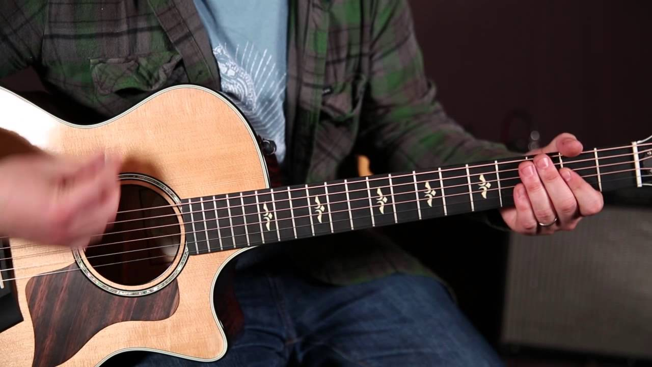 Lady Antebellum Bartender Guitar Lesson How To Play Acoustic