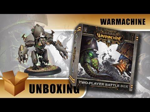 Warmachine Unboxing: Two Player Battle Box - Cygnar vs Cryx