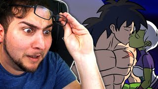 WHO'S FAN FICTION IS THIS?! | Kaggy Reacts to BROLY VS KEFLA, Dragon Ball Super