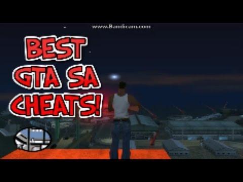 GTA San Andreas-Top 5 Most Fun Cheatcodes(Best GTA SA Cheats PC)