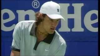 Roger Federer's first Australian Open at 18 years old