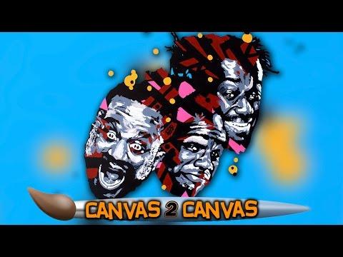 The New Day auf der Leinwand: WWE Canvas 2 Canvas