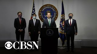 Top intelligence officials make major announcement on election security