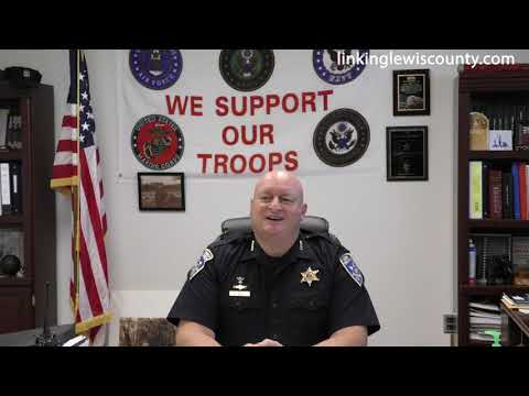 Business Carries On At Lewis County Sheriff's Office During COVID 19 Pandemic