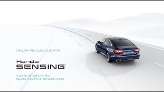 Honda Sensing® Millionth Car Milestone