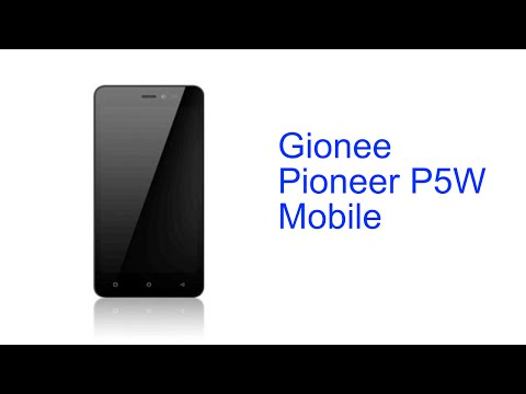 Gionee Pioneer P5W Connectivity Videos - Waoweo