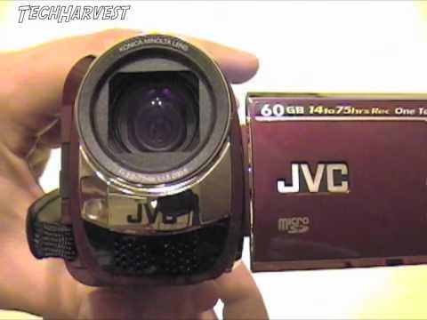 JVC Everio GZ-MG630RU 60GB Digital Camcorder Overview