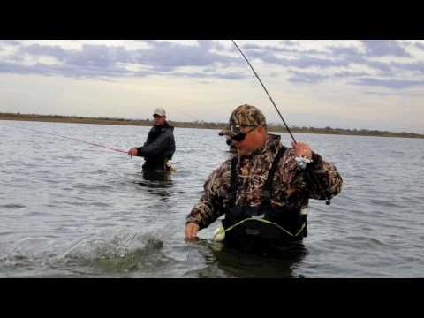 Corky Time- Wade Fishing Video