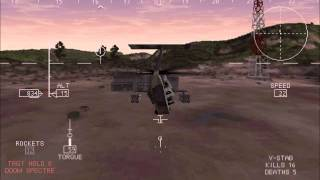 Comanche 3 Helicopter Simulator Multiplayer Melee with Three Players (#3)