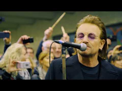 U2 - U-Bahn Surprise Gig Berlin (06.12.2017)