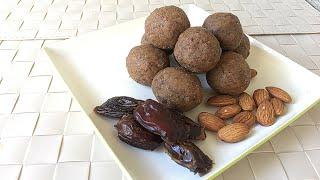 Kajoor Ladoo - Healthy Date Balls