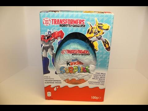 Giant KinderТрансформеры MAXI 2016 (Transformers), Киндер Сюрприз