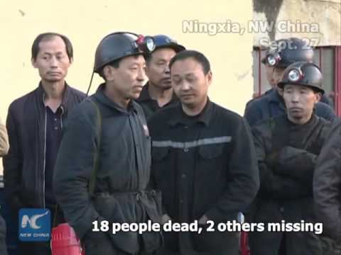 Coal mine blast kills 18 in NW China