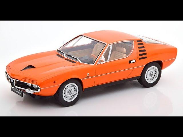 ALFA ROMEO Montréal Argent 1970-1:18 KK-Scale New *